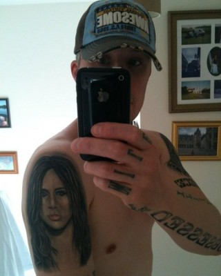 Obsessed Man Gets 17th Miley Cyrus-Inspired Tattoo
