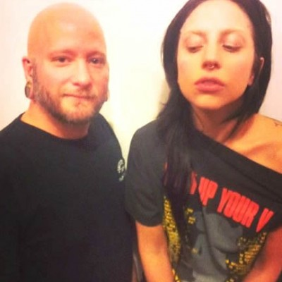 Watch Lady Gaga Get Her Septum Pierced in Preparation for ARTPOP
