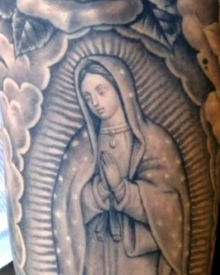 Did Justin Bieber Add a Virgin Mary Tattoo to His Full Sleeve?
