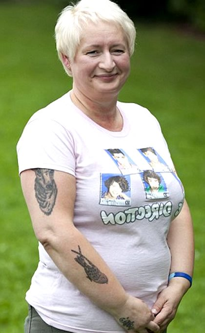 47-Year-Old Superfan Has 20 One Direction Tattoos…And You Thought Your Mom Was Embarrassing!