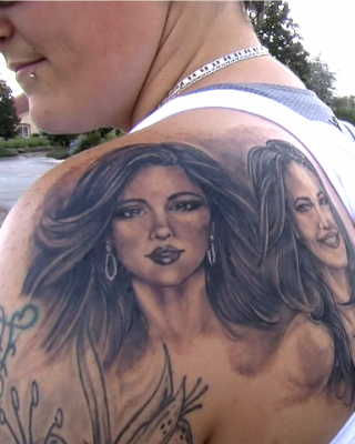 Devoted Woman Gets a Huge Selena Gomez Tattoo to Win Concert Tickets…for Her Sister!