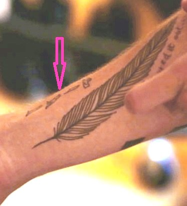 Liam Payne's Egyptian Hieroglyphics Arm Tattoo