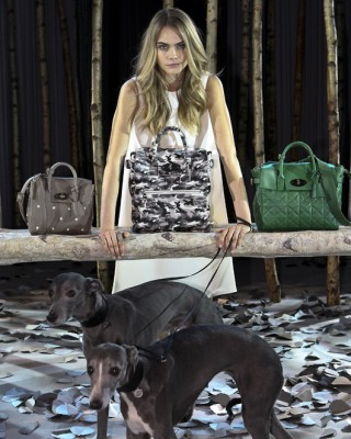 New Mulberry Bag Line Inspired by Cara Delevingne's Tattoos!