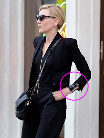 Cate Blanchett Gets New Wrist Tattoo Following Oscars Best Actress Win