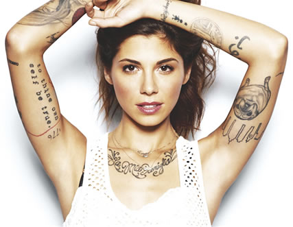 Is Christina Perri Planning on Getting a Face Tattoo??