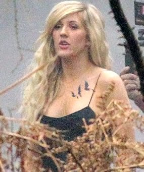 ellie goulding blackbirds tattoo