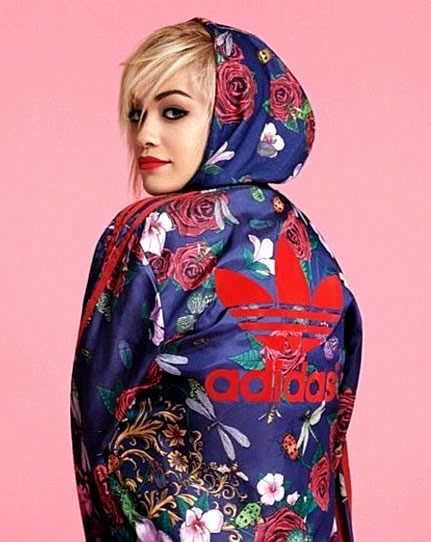 Rita Ora Teams Up With Adidas for New Clothing Line Inspired  by Her Tattoos