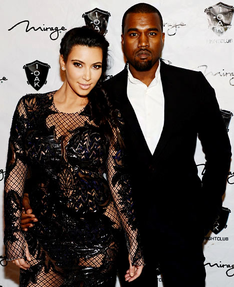 Kim Kardashian May Be Planning a Tattoo Tribute to New Hubby, Kanye West