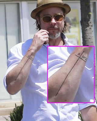 Brad Pitt Shows Off Never-Before-Seen Arm Tattoo Inspired by His Family
