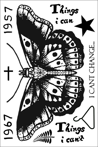 Harry Styles Butterfly Sheet