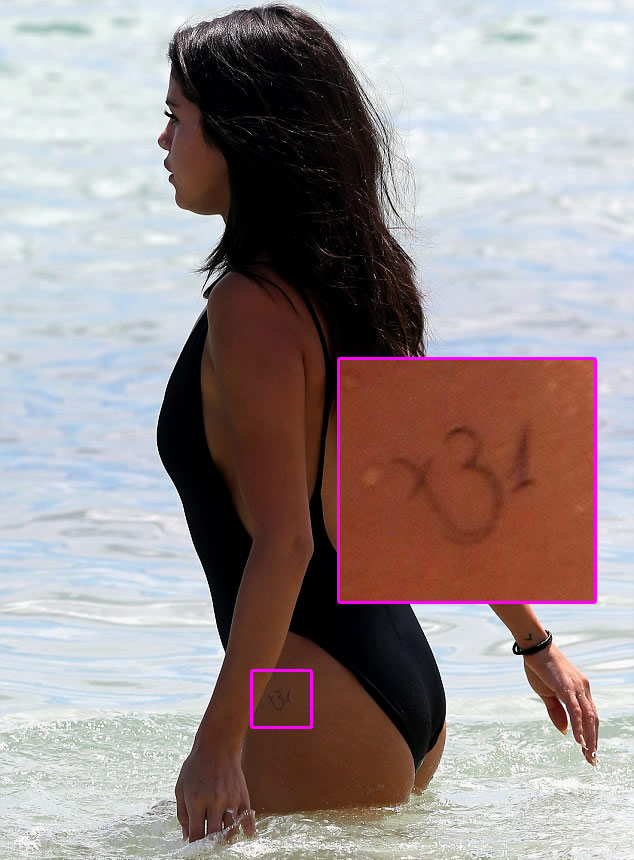 Selena Gomez Reveals New Spiritual Om Hip Tattoo During Miami Beach Vacay