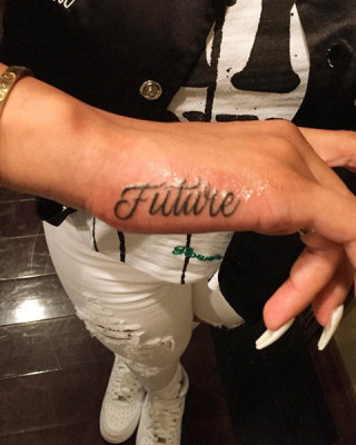 Check Out Blac Chyna's New Tattoo Tribute to Rumored Boyfriend, Future!