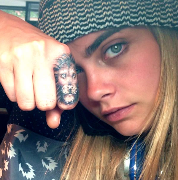 Cara Delevingne Dishes on the Meaning Behind Her Tattoos…And the Body Part She'll Never Get Inked!