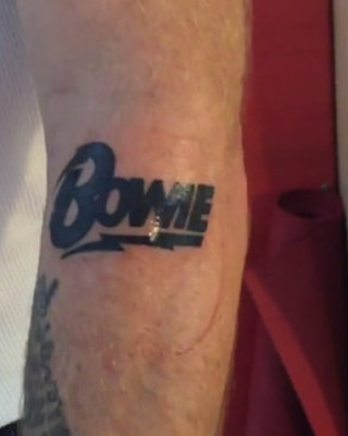 Flea from Red Hot Chili Peppers Reveals David Bowie Tribute Tattoo