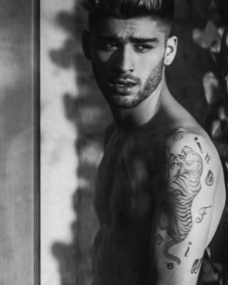 Zayn Malik Gets Mind of Mine Album Title Tattoo and New Leg Ink