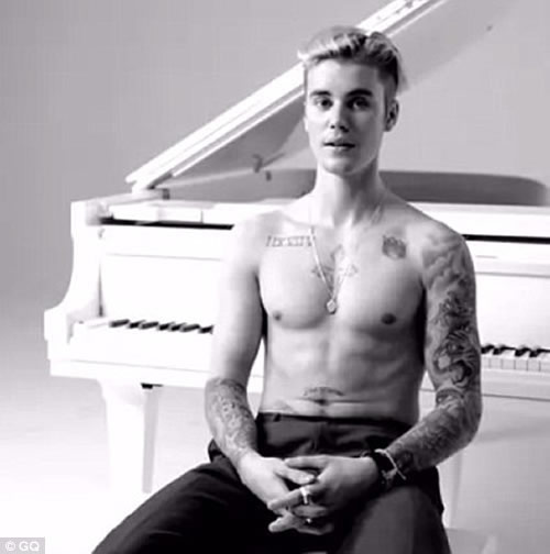 Justin Bieber Explains His Many Tattoos, Admits to Trying to Cover His Selena Tat