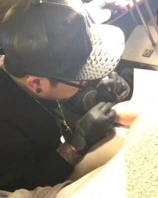 """Kylie Jenner Posts Video of Latest """"Mary Jo"""" Tattoo"""