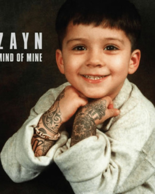Baby Zayn Sports Singer's Tattoos on New Mind of Mine Album Cover
