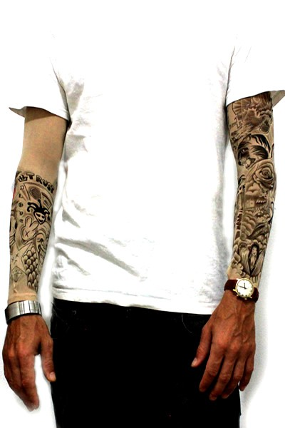 Justin Bieber Tattoo Sleeves