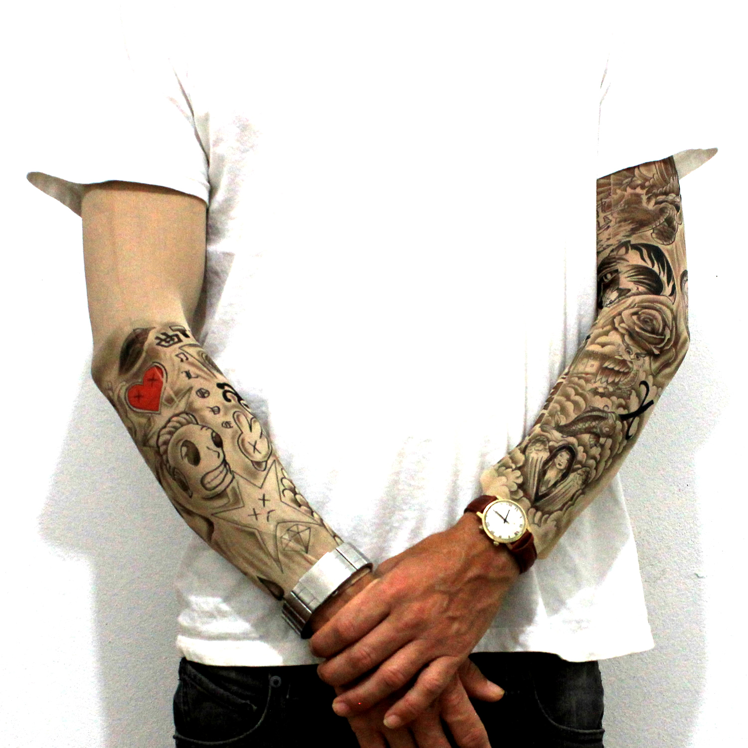 Justin Bieber Tattoo Sleeves Justin Bieber Tattoo Sleeve