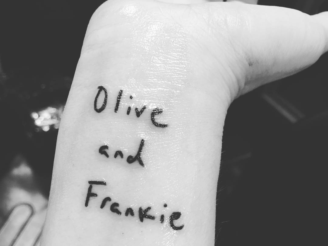 Check Out Drew Barrymore S Cute New Tattoo Tribute To