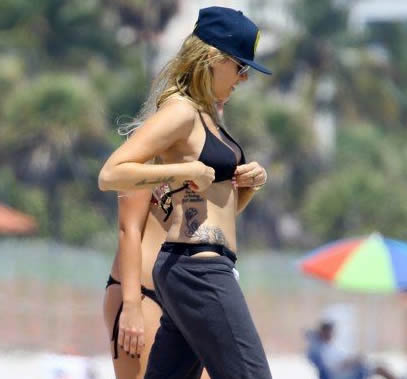 tish cyrus tattoos