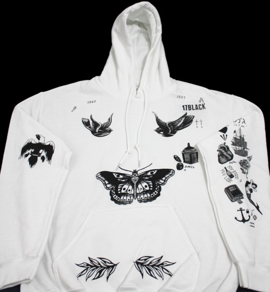 Harry Styles Tattoo Hoodie Sweatshirt