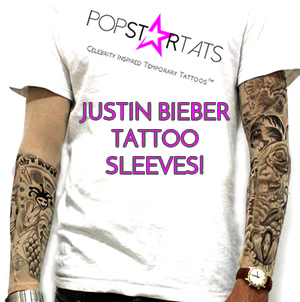 TOP 50 Justin Bieber Tattoos Back