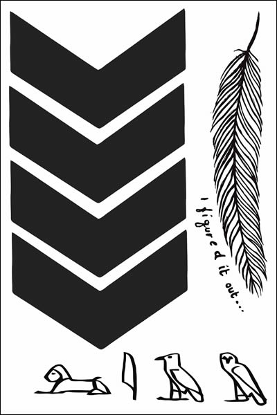 Liam Payne Chevron Temporary Tattoo Sheet