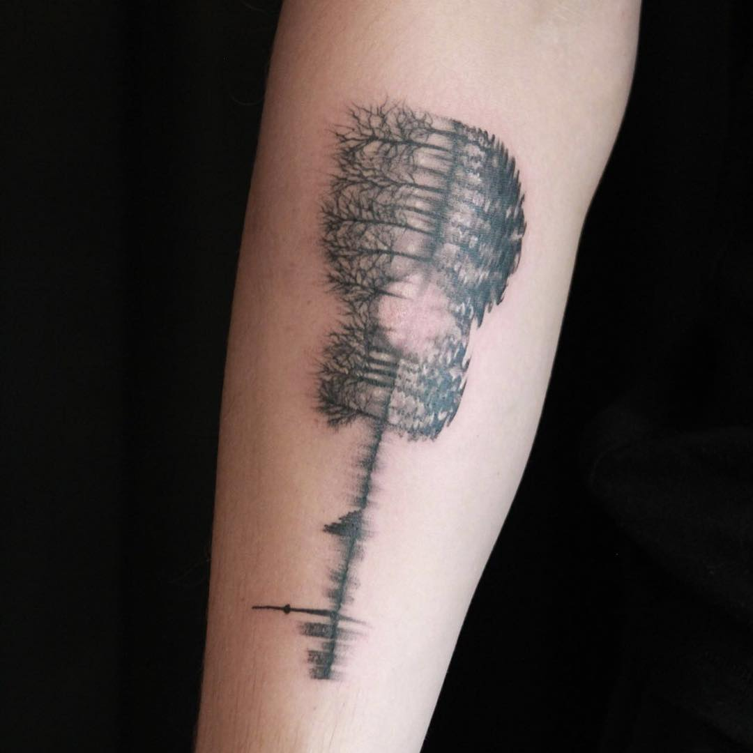 Shawn mendes first tattoo is a true work of art popstartats for Electric hand tattoo