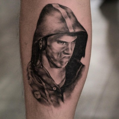 Inspired Fan Gets Tattoo of Michael Phelps' Meme-making #PhelpsFace