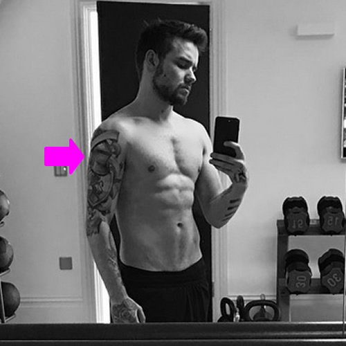 Liam Payne Shows Off Mysterious Shoulder Tattoo in ...