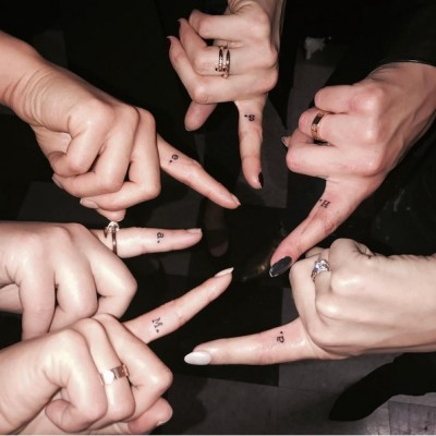 The Girls of Pretty Little Liars Get Matching Finger Tattoos After Wrapping Series