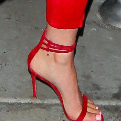 "Kylie Jenner's New ""t"" Ankle Tattoo May Be a Tribute to Tyga"