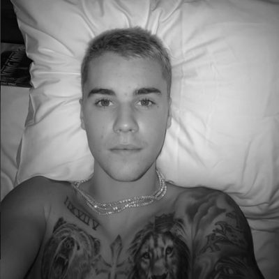 Justin Bieber Reps the King of the Jungle with New Lion Chest Tattoo
