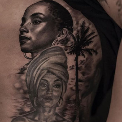Drake Honors Sade Again With Another Portrait Tat
